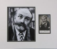 Jimmy Edwards Autograph Signed Photo Display
